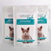 Urkham comida húmeda ecologica de ternera para gatos adultos