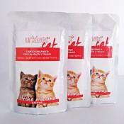 Urkhan comida húmeda ecologica de ganso para gatitos