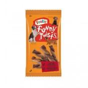 Frolic Twist Barritas de buey y queso para perros
