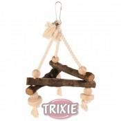 Columpio con cuerda natural para pájaros trixie