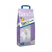 Arena aromatizada para gatos Sanicat superplus