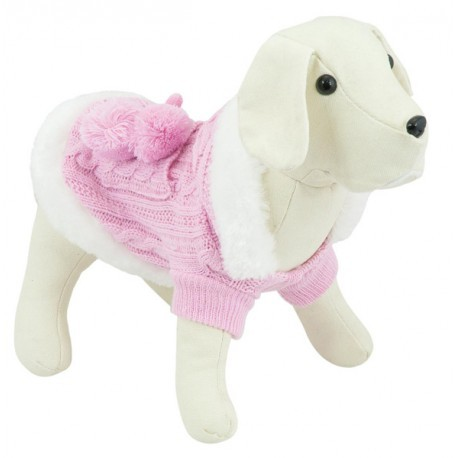 Jersey Anastasia rosa para perros