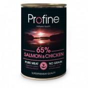 Profine Latas de comida húmeda de salmón y pollo