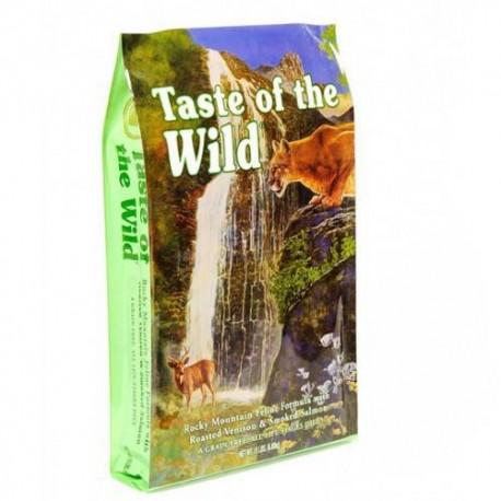 Taste of the wild rocky mountain de salmon
