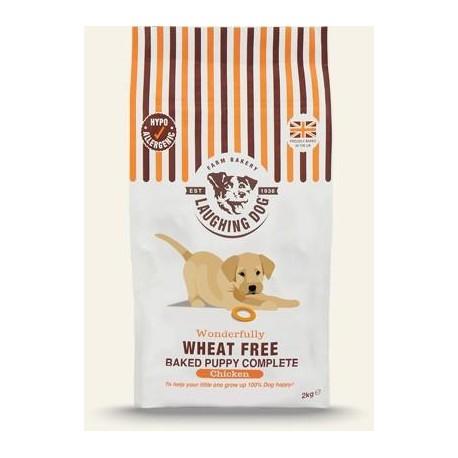Laughing Dog de pollo sin trigo para cachorros