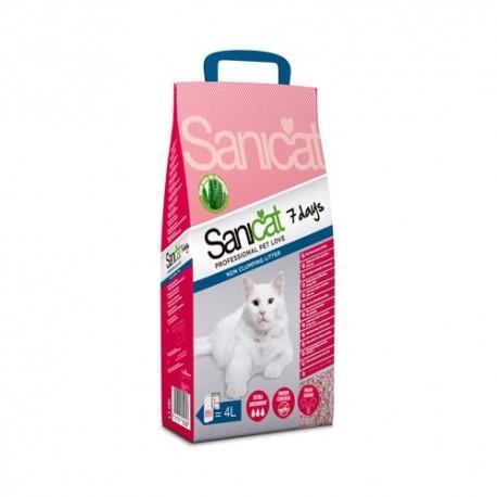Sanicat Aloe Vera 7 Days arena perfumada para gatos