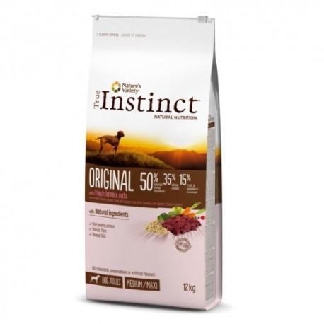 True Instinct Original Adult Medium Maxi de cordero