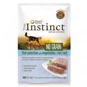 True Instinct No Grain Paté de pescado y verduras para gatos