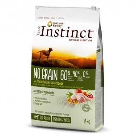 True Instinct No Grain Adult Medium Maxi de pollo