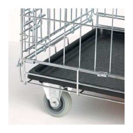 Set de ruedas para jaulas metálicas Ibañez