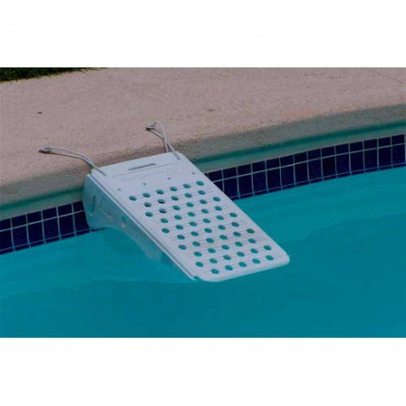 Rampa salvavidas de mascotas para piscinas
