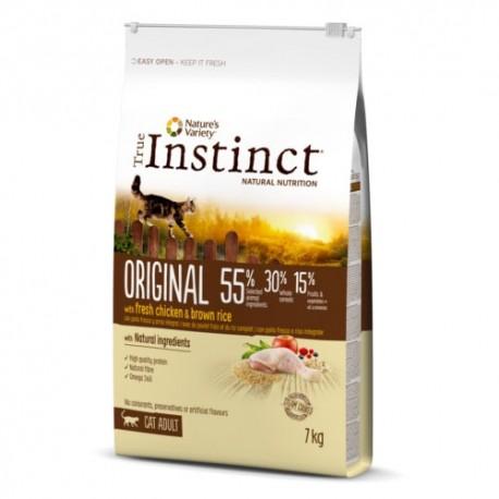 True Instinct Original Adult Pollo para gatos