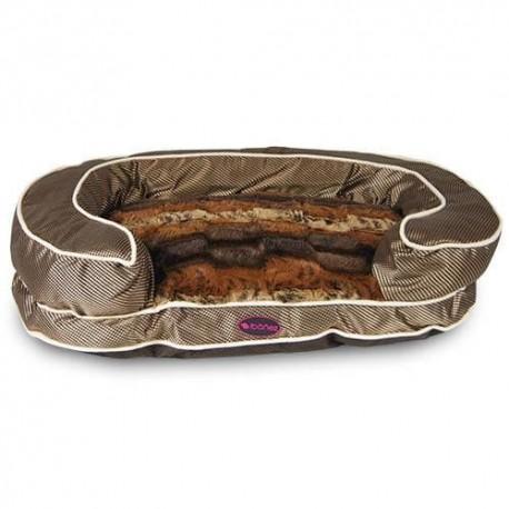 Sofá de lujo Animal Print para perros