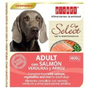 pienso humedo de salmon para perros select dog adult