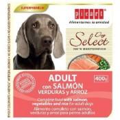 Select dog adult salmón pienso humedo para perros
