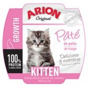 Arion Original wet kitten paté de pollo para gatitos