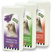 Toallitas higiénicas para perros con aroma