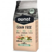 Pienso Ownat Just Grain Free Adult de pollo