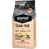Pienso Ownat Just Grain Free Adult de Salmón & Seafood