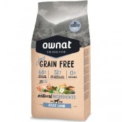 Pienso Ownat Just Grain Free Adult de cordero