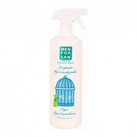 Limpiador desinfectante para jaulas de pajaros menforsan