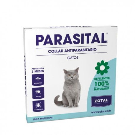 Parasital Collar repelente natural para gatos