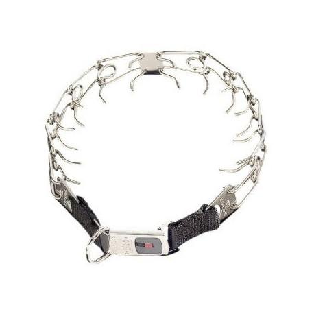 Collar Ultra Plus con cierre clicklock en color metálico Sprenger