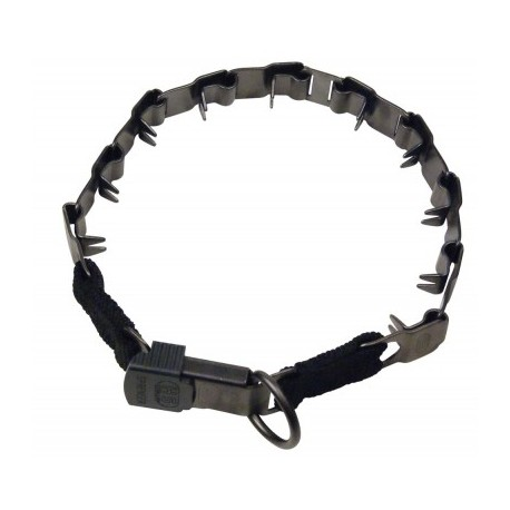 Collar Neck Tech con cierre cliclock en color negro Sprenger