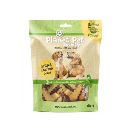 Planet Pet Tiras Pollo a la Parrilla para perros