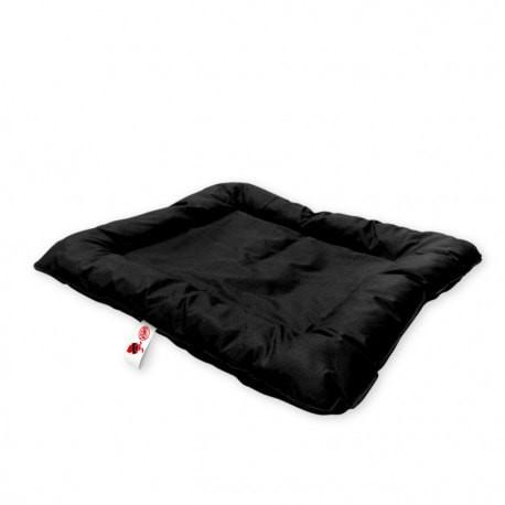 Colchón negro con manta refrigerante para perros Radical