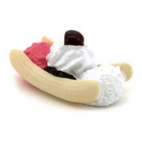 Dulce de vinilo con forma de helado para perros