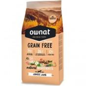 Pienso Ownat Prime Grain Free Junior de cordero