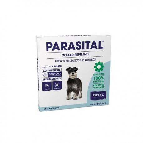Collar repelente natural para perros pequeños y medianos Parasital