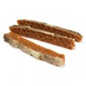 Barritas de salmón con piel Natural Snack Arquivet