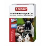 Pipetas antiparásitos para roedores y hurones