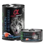 Alpha Spirit Comida húmeda de salmón y arándanos