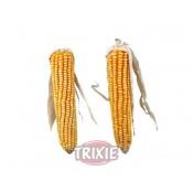 Mazorca de maíz con farfolla para roedores