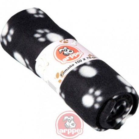 Manta para perros y gatos con huellitas