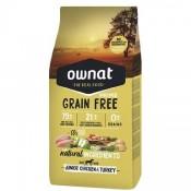 Pienso Ownat Prime Grain Free Junior de pollo y pavo