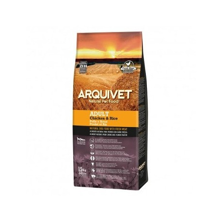 Arquivet Adult de Pollo y Arroz