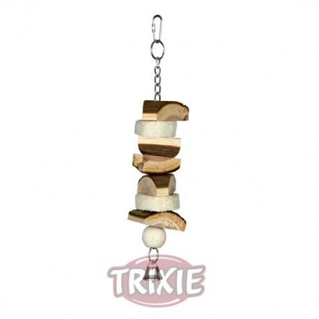 Juguete de madera natural para mordisquear trixie