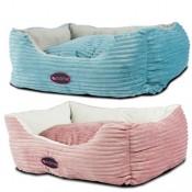 Cama de pana suave para perros y gatos
