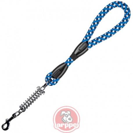 Empuñadura redonda de nylon con muelle azul y blanca arppe