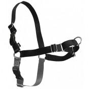 Arnés anti-tiro Easy Walk negro para pasear cómodamente