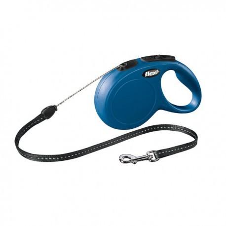 Flexi New Classic azul de cordón