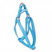 Arnés para perros Basic de nylon azul