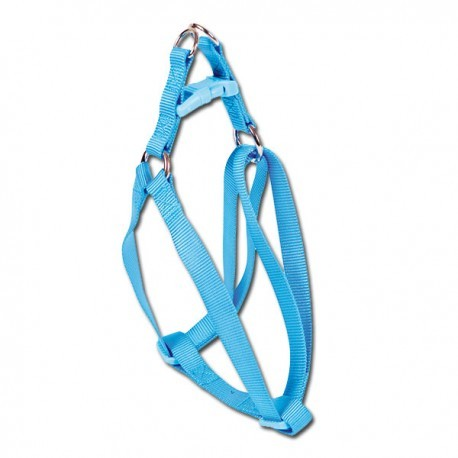Arnés de nylon azul Basic nayeco