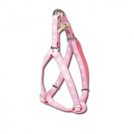 Arnes Macleather rosa para perros nayeco