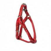 Arnés Envy de nylon y plástico en color rojo