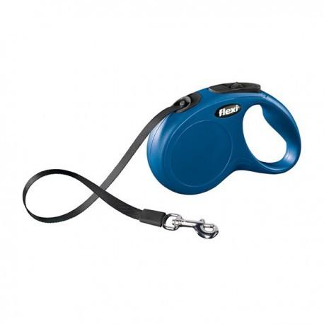 Correa extensible de cinta flexi new classic color azul